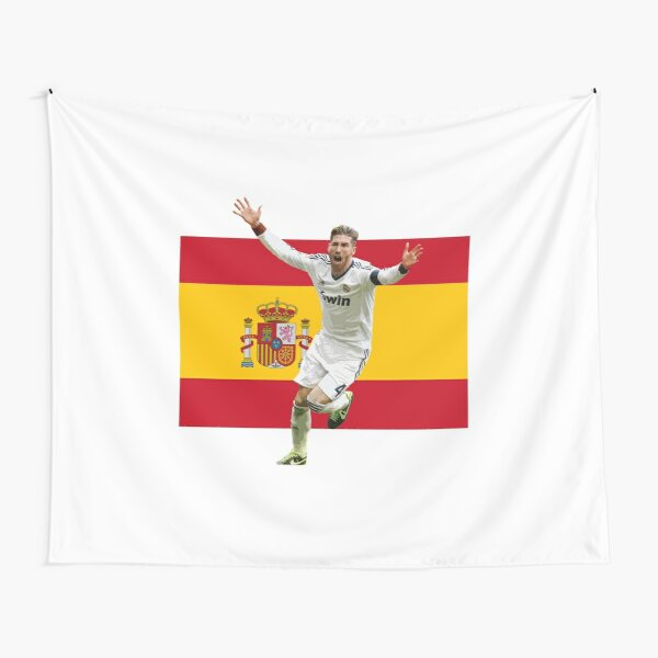 Sergio Ramos - Spain and Real Madrid Legend Tapestry