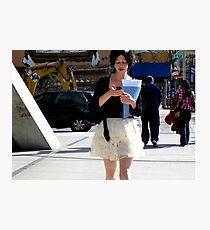 NYC Texting Photographic Print