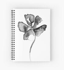 Flower Lithograph Print Spiral Notebook