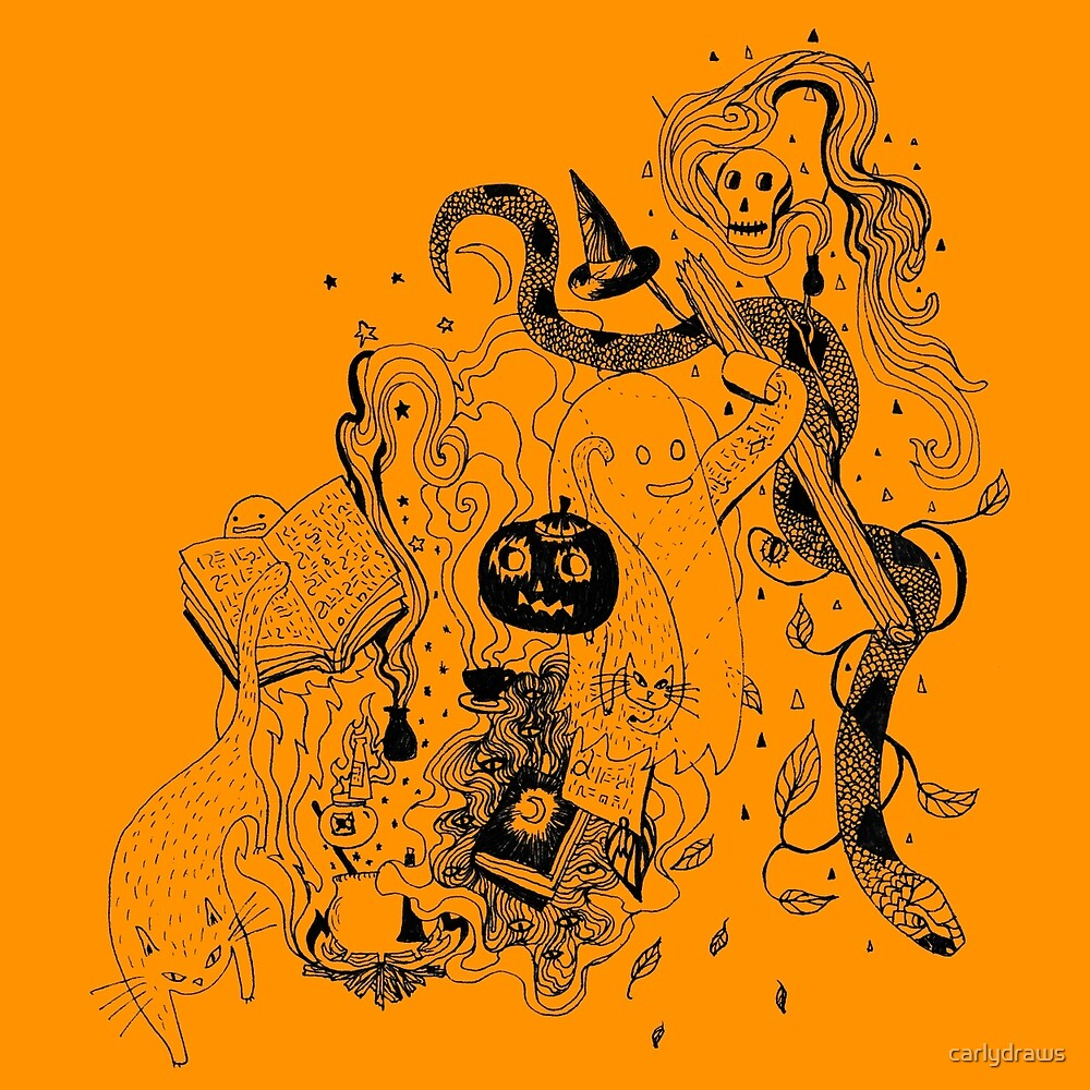 Witches Brew (pumpkin) by carlydraws