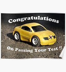 Driving Test Pass Poster