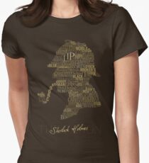 Sherlock Holmes The Canon Women's Fitted T-Shirt
