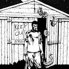 Keep Out by disasterink