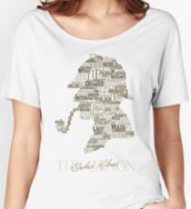 Sherlock Holmes The Canon (white) Women's Relaxed Fit T-Shirt