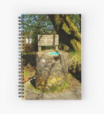 Parking Meter in Dartmoor Spiral Notebook