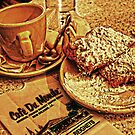 Coffee & Beignets At The Cafe Du Monde by ☼Laughing Bones☾