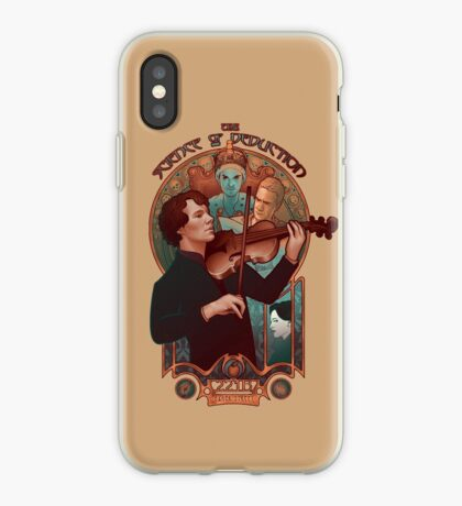 The Science of Deduction iPhone Case