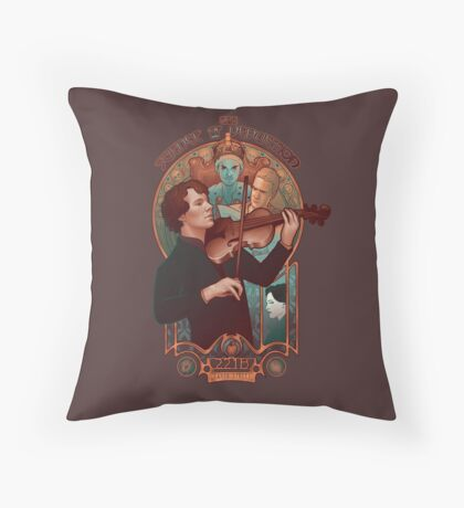 The Science of Deduction Throw Pillow