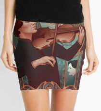 The Science of Deduction Mini Skirt