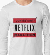 Netflix Marathon Long Sleeve T-Shirt