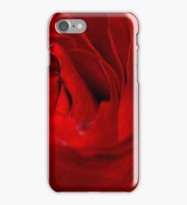 Red Rose Macro 3 iPhone Case/Skin