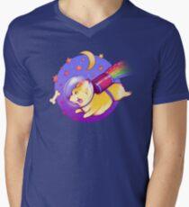 See You Space Corgi Men's V-Neck T-Shirt