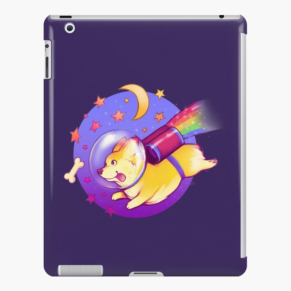 See You Space Corgi iPad Case & Skin