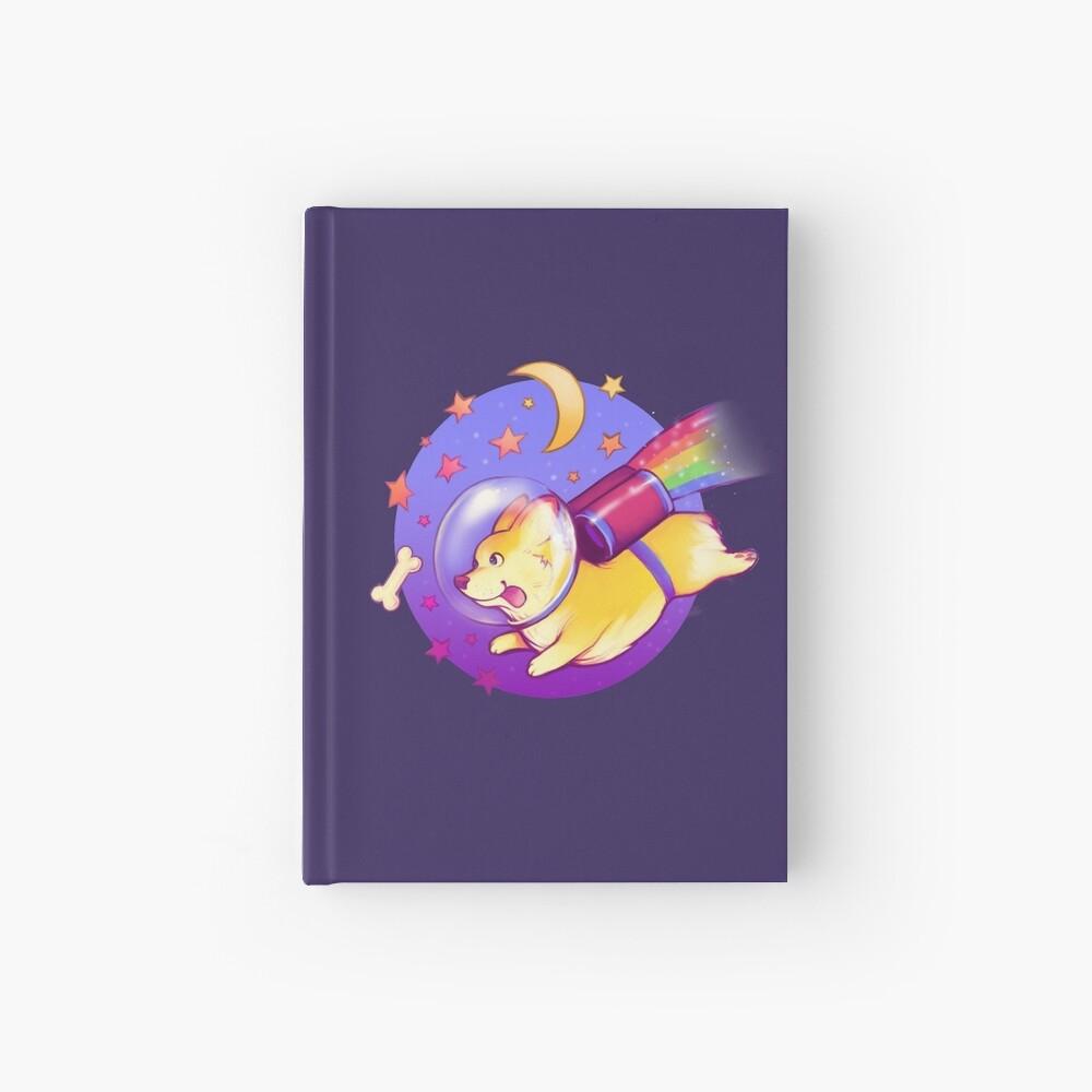 See You Space Corgi Hardcover Journal