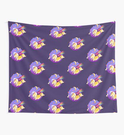 See You Space Corgi Wall Tapestry