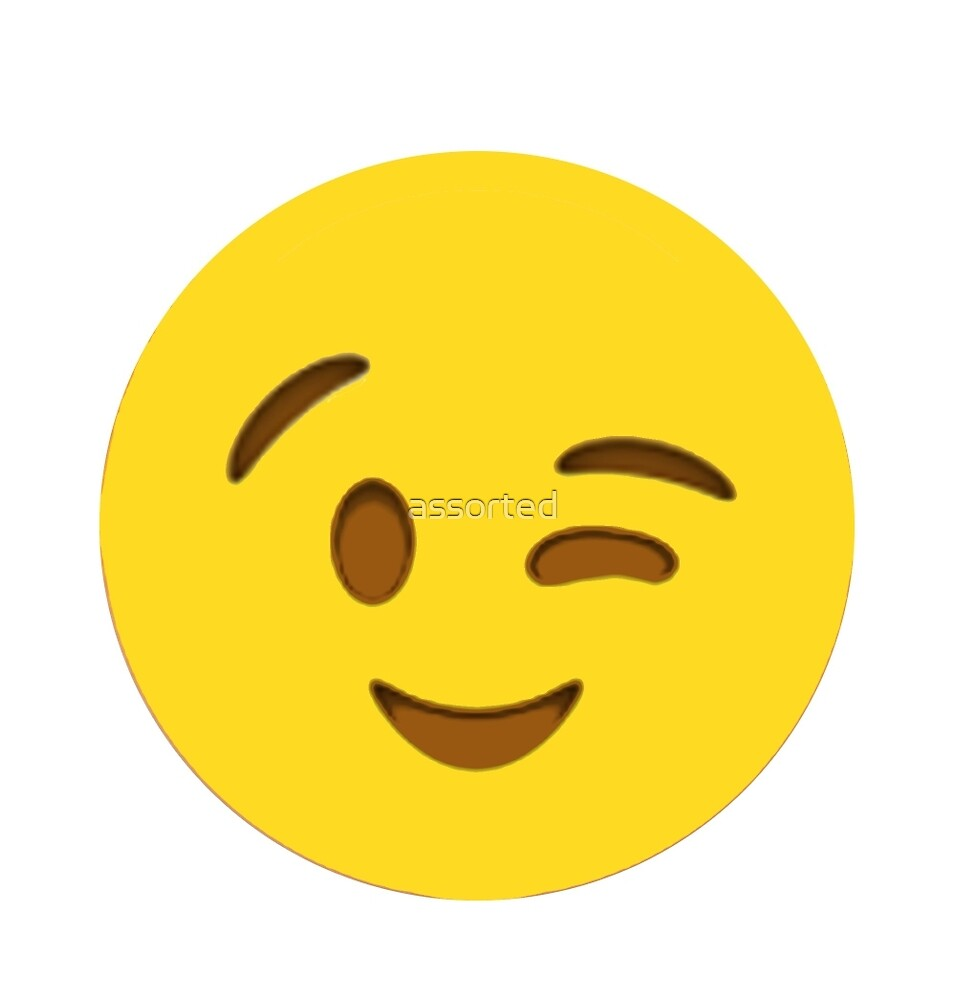 wink face emoji use a wink face emoji