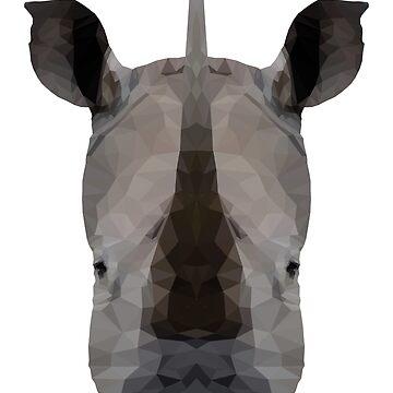 rhinoceros by danielesaturn