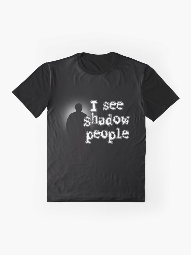 Alternate view of Shadow People Graphic T-Shirt