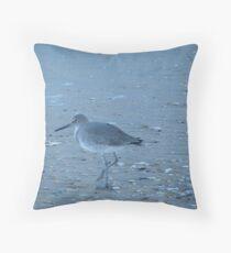 Sand Piper Throw Pillow