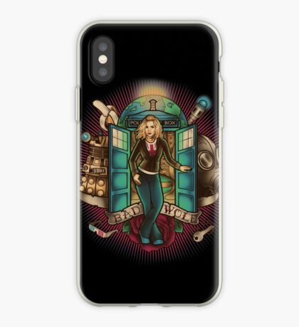 I Am The Bad Wolf iPhone Case