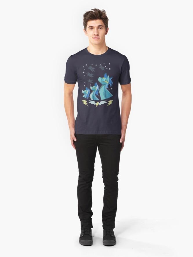 Vista alternativa de Camiseta ajustada Cartel Wonderbolt