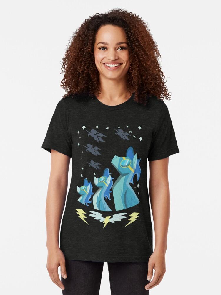 Vista alternativa de Camiseta de tejido mixto Cartel Wonderbolt