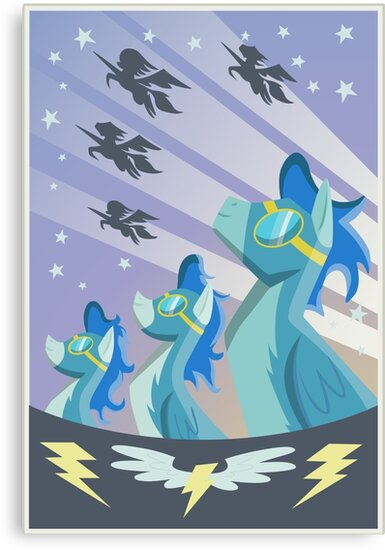 Wonderbolt Poster by Stinkehund