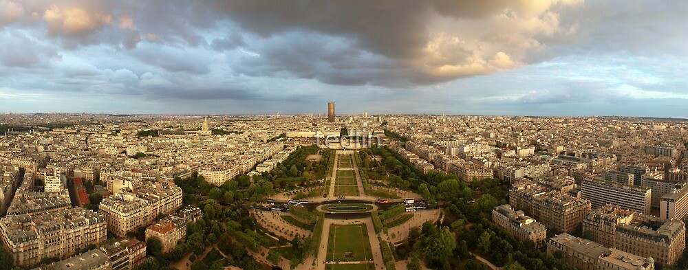 Eiffel Tower View by tedlin