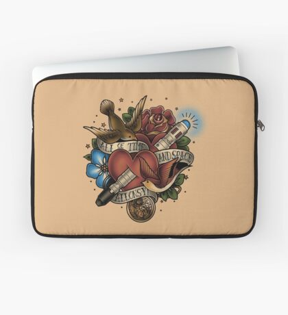 All of Time and Space Laptop Sleeve