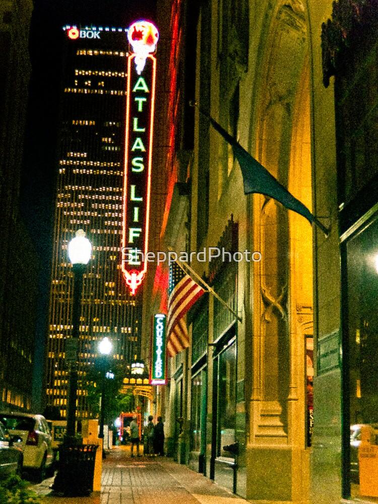 Tulsa at Night by SheppardPhoto