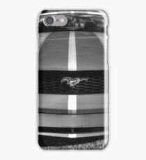 B&W Mustang HDR iPhone Case/Skin