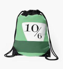 Mad Hatter Hat Drawstring Bag