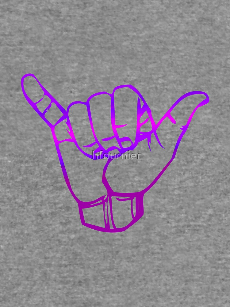 Hang Loose in Purple  by hfournier