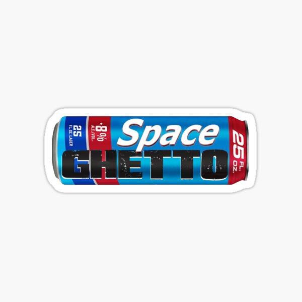 Space Natty Sticker