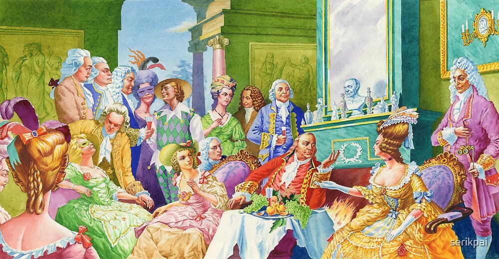 masquerade ball by serikpai