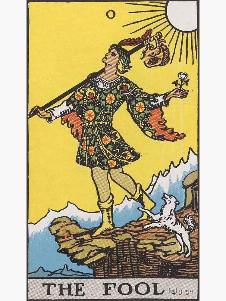 Tarot - The Fool by kaliyuga