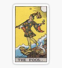 Tarot Card- The Fool Sticker