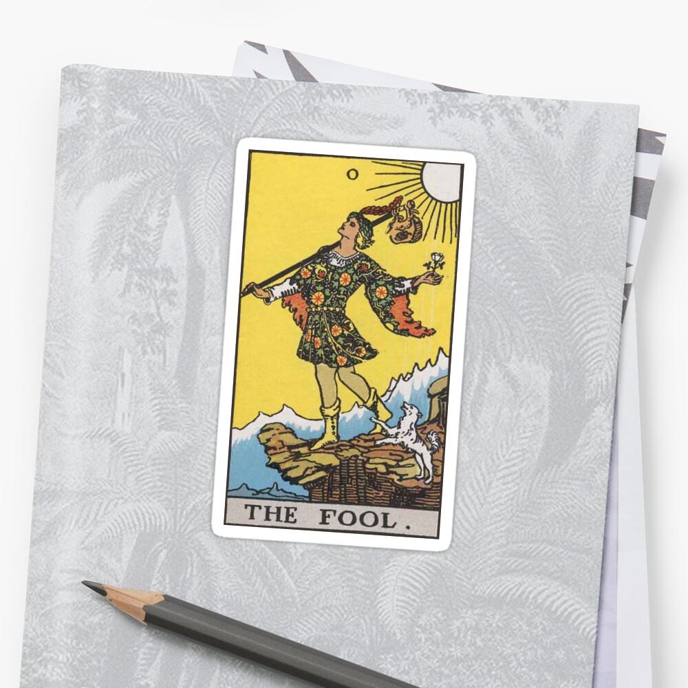 Tarot - The Fool Sticker