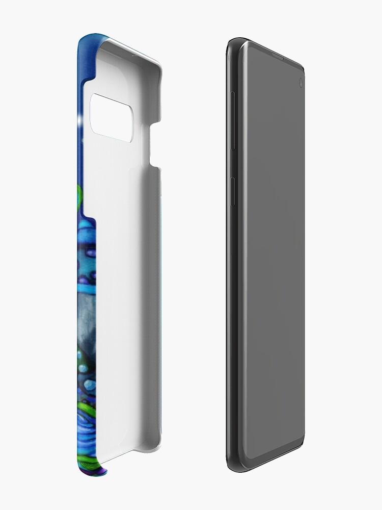 Alternative Ansicht von Alice in Wonderland and White Rabbit Hüllen & Klebefolien für Samsung Galaxy