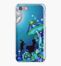 Alice in Wonderland and White Rabbit iPhone Case/Skin