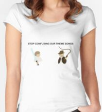 Theme Song Women's Fitted Scoop T-Shirt