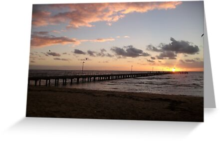 Sunset at Frankston Peir-2 by Suziemgw