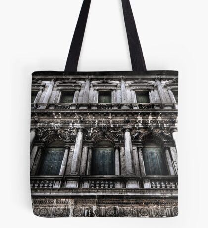 Grungy Green Shutters Tote Bag