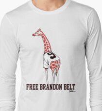 Free Brandon Belt Giraffe Long Sleeve T-Shirt