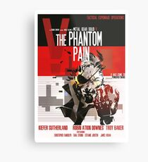 Phantom - Metal Gear Metal Print