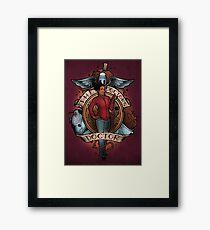 The Doctor's Doctor Framed Print