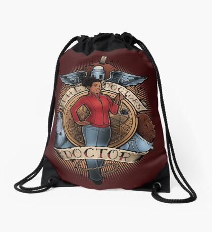 The Doctor's Doctor Drawstring Bag