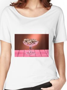 sponge cookies with chocolate Women's Relaxed Fit T-Shirt