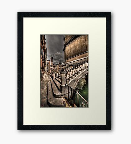 Crossing Over Framed Print