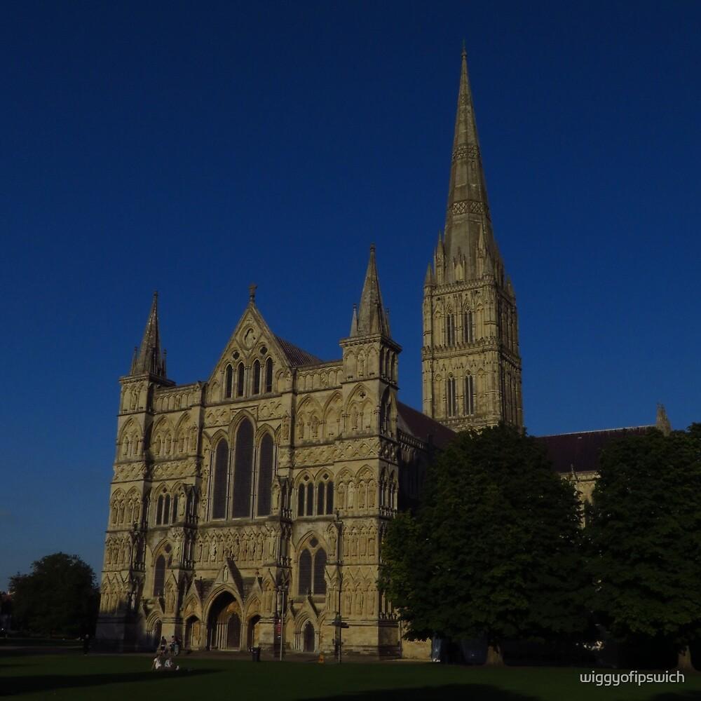 Salisbury Cathedral, England by wiggyofipswich